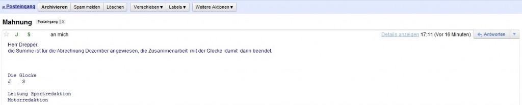 Mail Ahlener Tageblatt danieldrepper.de