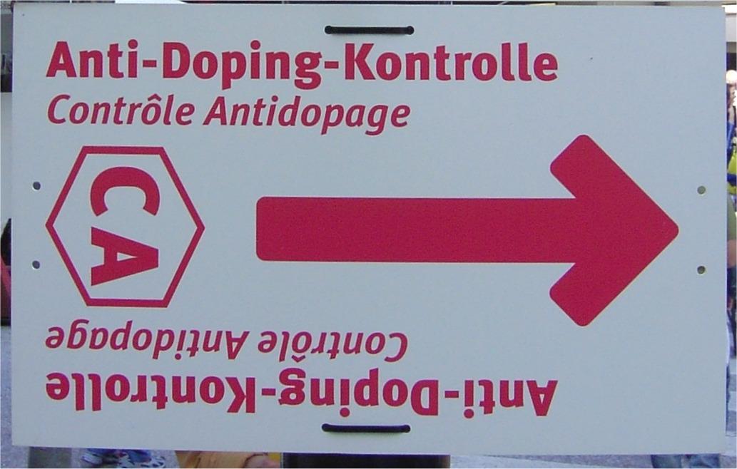 Dopingkontrollen verstoßen offenbar gegen den Datenschutz. Foto: Wikipedia