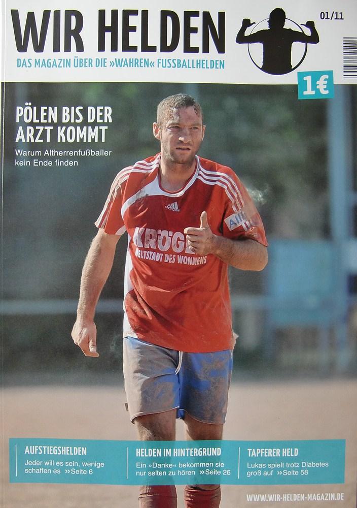 """Das Cover der ersten Ausgabe von """"Wir Helden"""""""